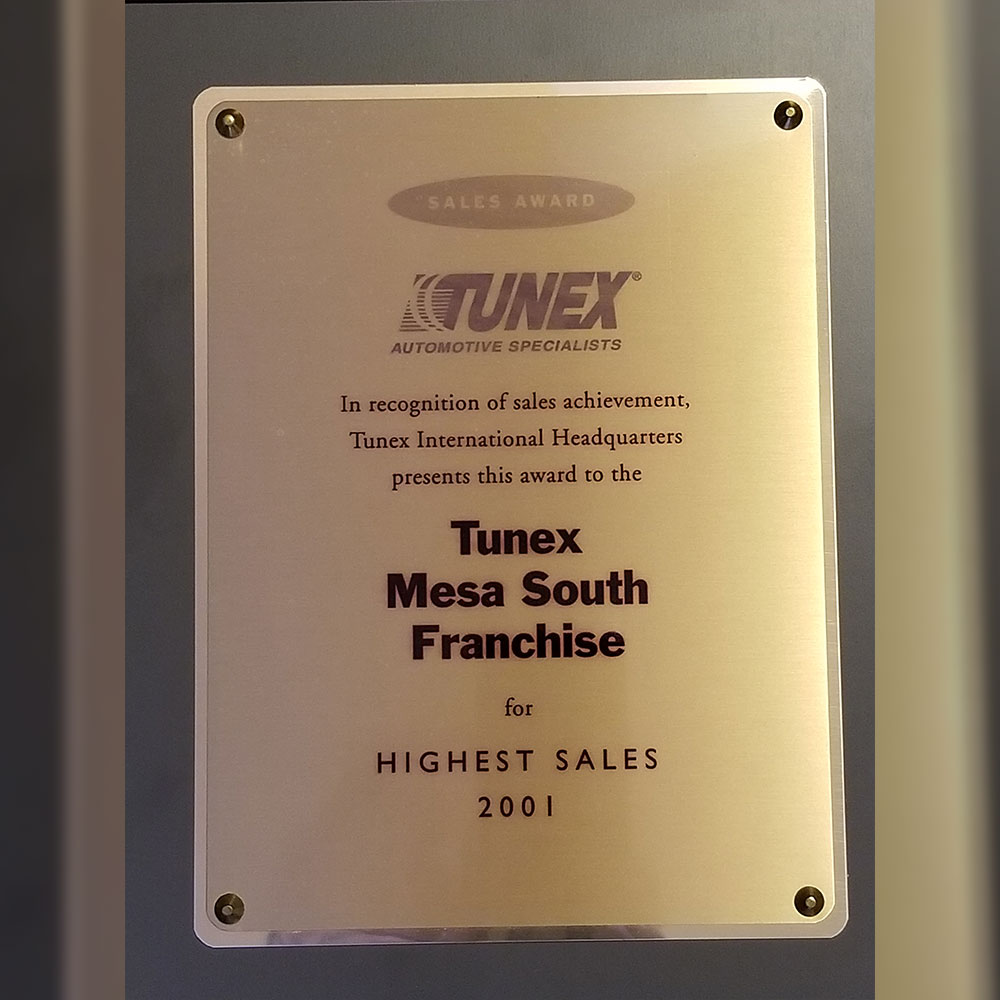 Tunex Award 1