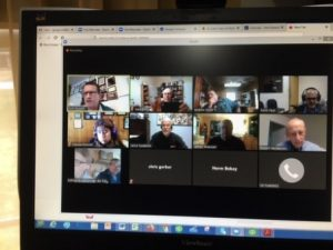 Screen capture of one of our community webinar events