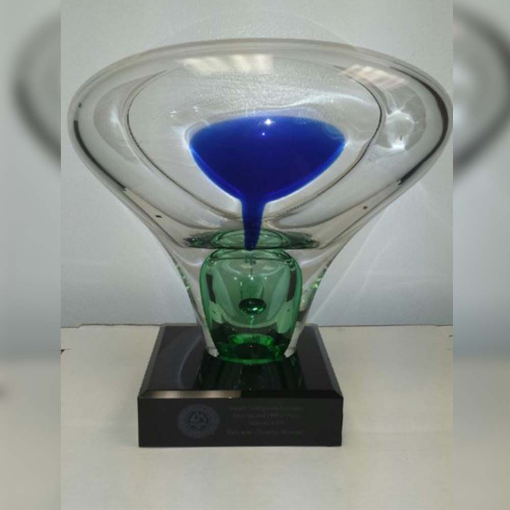 2009 Hall of Fame induction trophy