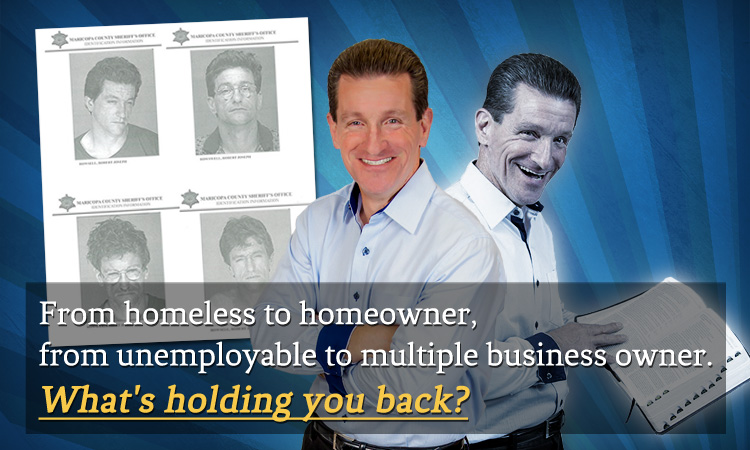 Rob Rowsell, from homeless to homeowner with God's help.